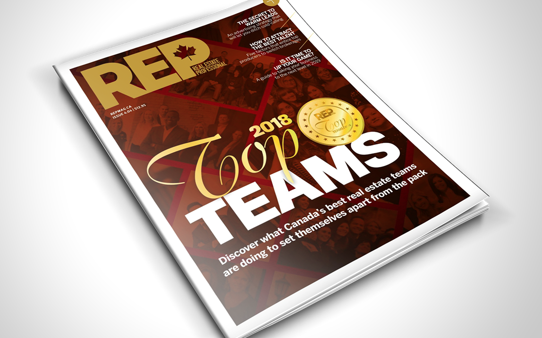 Real Estate Professionals - 2018 TOP TEAMS